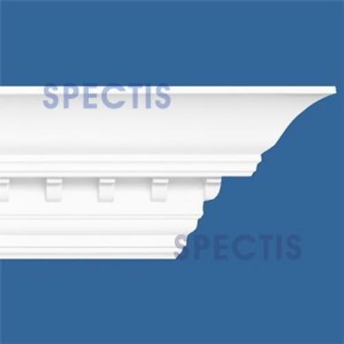 """MD1026 Spectis Crown Molding Dentil Trim 8 5/8""""P x 8""""H x 145""""L"""