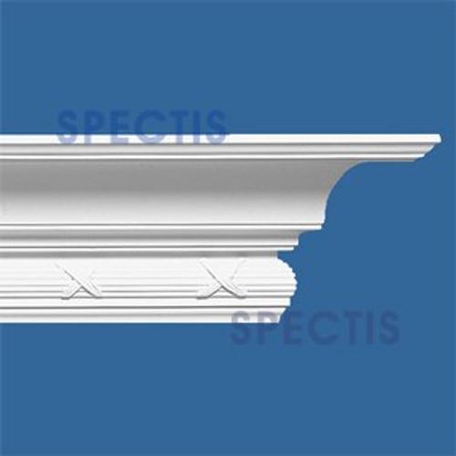 """MD1036 Spectis Crown Molding Trim 6 1/2""""P x 6 1/2""""H x 144""""L"""