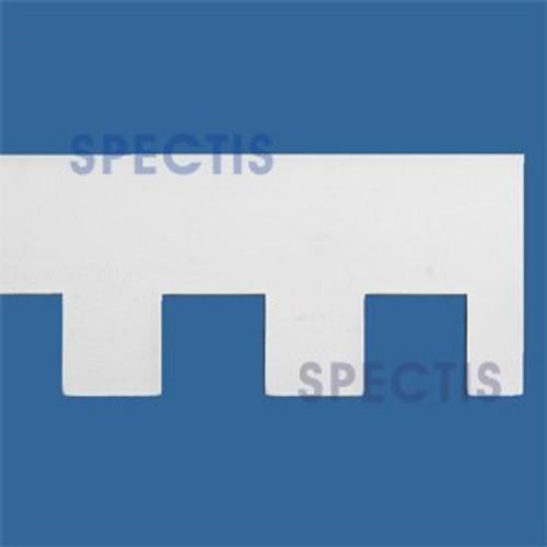 """MD1058 Spectis Molding Dentil Trim 1 3/8""""P x 6""""H x 144""""L"""