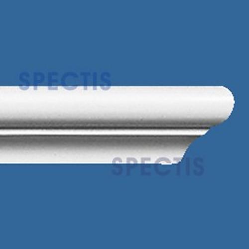 """MD1059 Spectis Crown Molding Cap Trim 3/4""""P x 1""""H x 120""""L"""