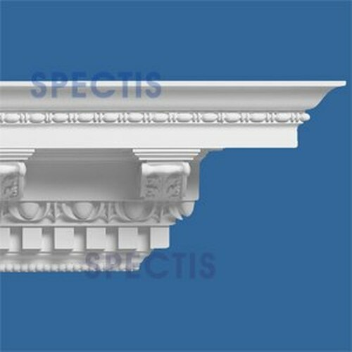 """MD1063 Spectis Crown Molding Dentil 12""""P x 12 3/4""""H x 138""""L"""