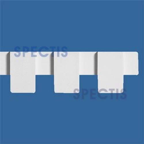 """MD1106 Spectis Molding Dentil Trim 7/8""""P x 3 1/2""""H x 144""""L"""