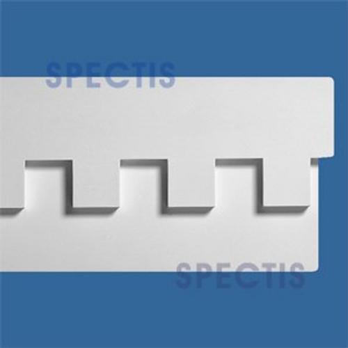 """MD1109 Spectis Molding Dentil Trim 1 1/2""""P x 11 1/2""""H x 142""""L"""
