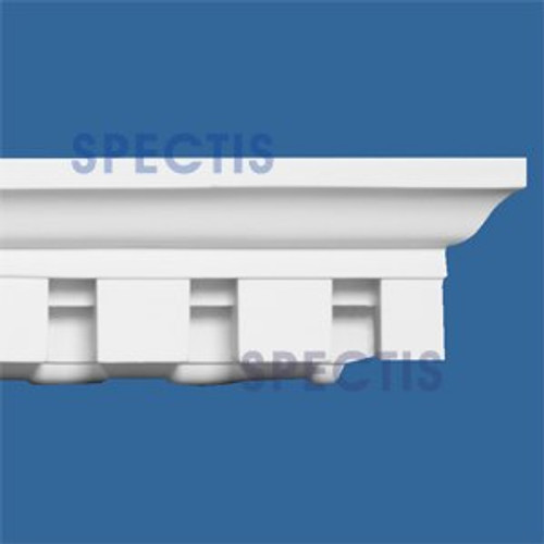 """MD1125 Spectis Crown Molding Dentil Trim 3 1/2""""P x 4""""H x 144""""L"""