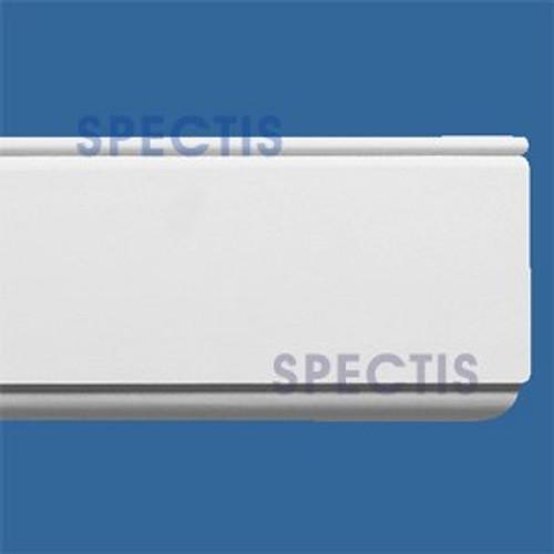 """MD1167 Spectis Molding Base Trim 1 1/8""""P x 5 1/2""""H x 120""""L"""