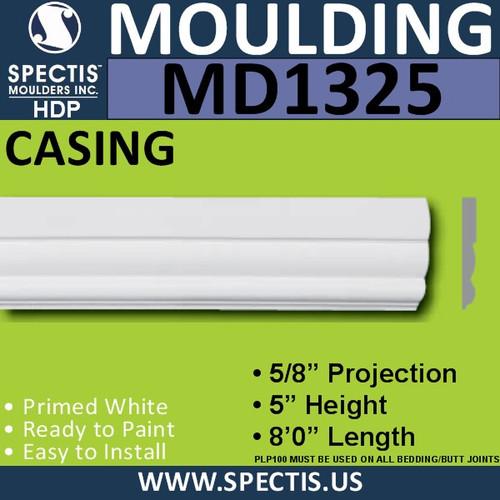 """MD1325 Spectis Molding Case Trim 5/8""""P x 5""""H x 96""""L"""
