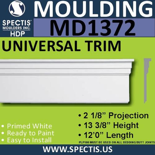 """MD1372 Spectis Molding Base Trim 2 1/8""""P x 13 3/8""""H x 144""""L"""