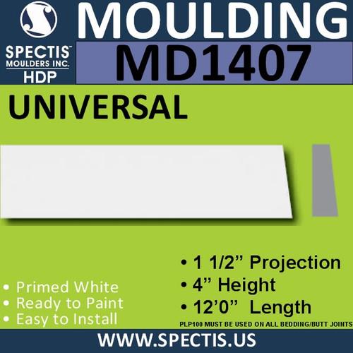 """MD1407 Spectis Window Sill Trim 6""""P x 16""""H x 144""""L"""