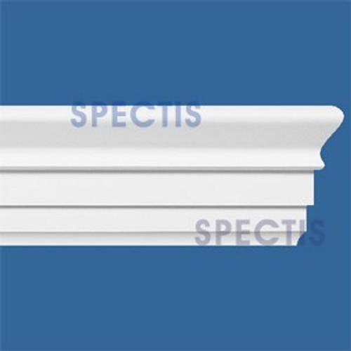 """MD1425 Spectis Molding Base Cap 3 7/16""""P x 7 1/4""""H x 144""""L"""
