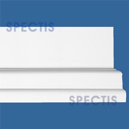 """MD1506 Spectis Molding Base Cap 1 3/4""""P x 5 1/2""""H x 144""""L"""