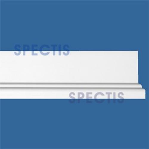 """MD1591 Spectis Molding Base Cap Trim 7/8""""P x 3 1/8""""H x 144""""L"""