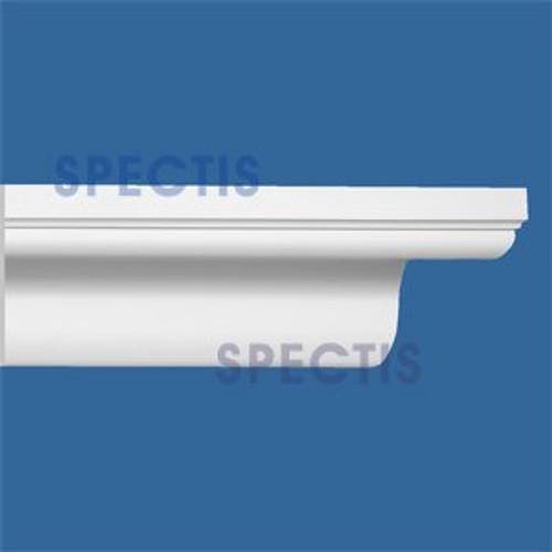 """MD1768 Spectis Crown Molding Cap Trim 4 5/8""""P x 5 9/16""""H x 144""""L"""