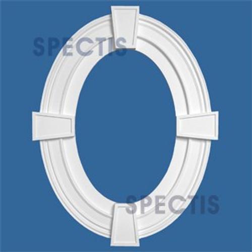"""OTK3801-1624 Oval Trim 16""""W X 24 1/2""""H Inside with 3.5"""" Casing"""