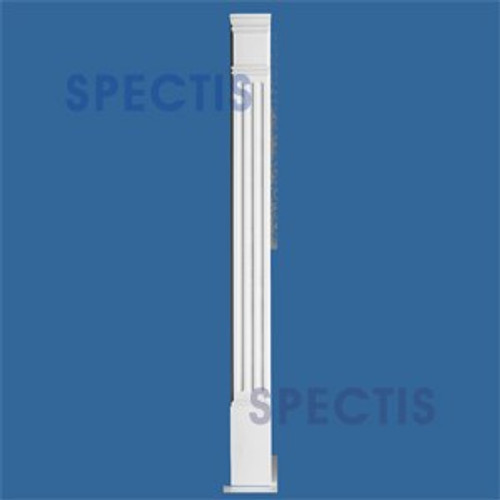 "PL590F Fluted Pilasters from Spectis Urethane 5"" x 90"""