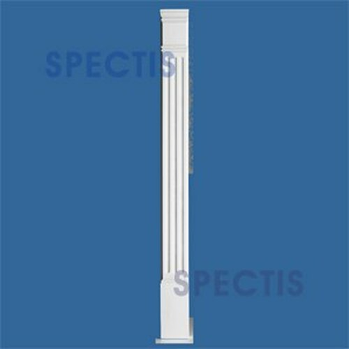 "PL755F Fluted Pilasters Spectis Urethane 7"" x 55"""