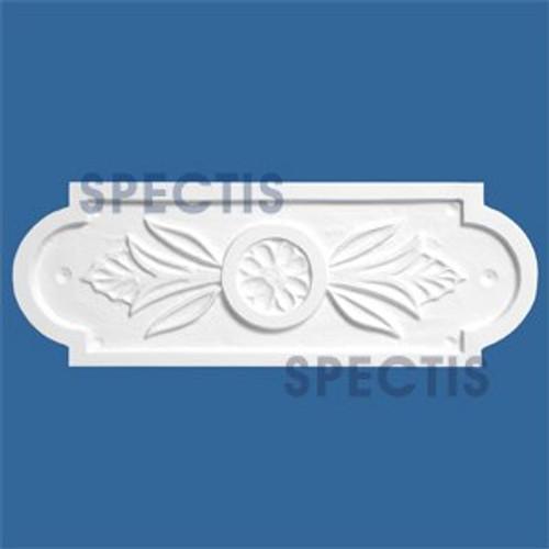 """PQ3504 Decorative Urethane Plaque 1/2""""P X 5 1/2""""H X 15 1/2""""W"""