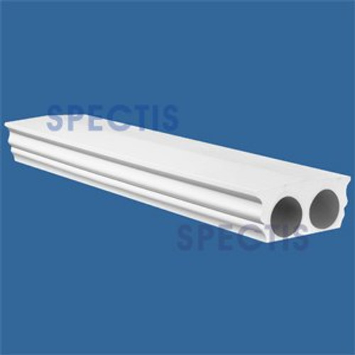 """RAL2101T Smooth Finish 9 1/4""""W Top Railing 8'-10'-12'"""