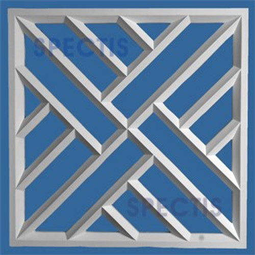 "RP3901 Decorative Square Panel 1 1/2""P X 27 3/4"""