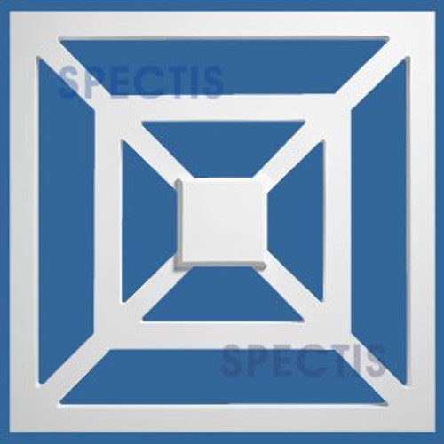 "RP3907 Decorative Square Raised Panel 2""P X 22"""
