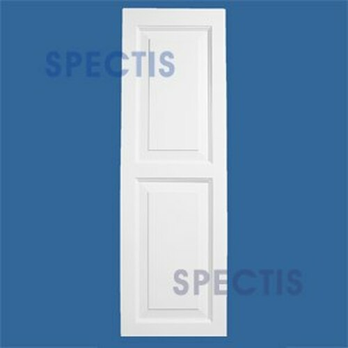 SHP-2 1457 Polyurethane Shutters - 2 Raised Panels 14 x 57
