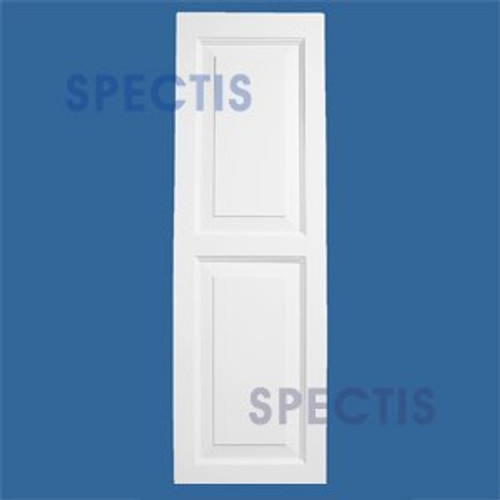 SHP-2 1647 Polyurethane Shutters - 2 Raised Panels 16 x 47