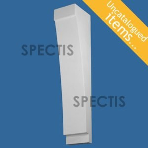 """BL3006 Spectis Eave Block or Bracket 6""""W x 32""""H x 7.25"""" Projection"""