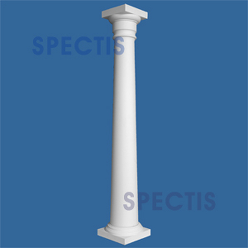 "CLM100-8-12 Smooth Tapered Column 8"" x 144"""