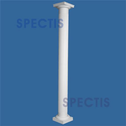 "CLM230-12-10 Fluted Straight Column 12"" x 120"""