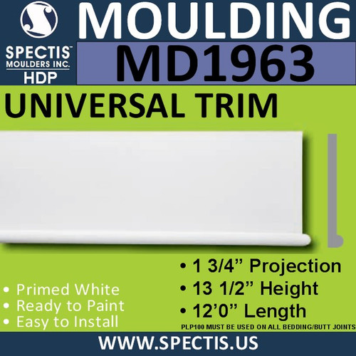 MD1963 Universal Molding Trim decorative spectis urethane