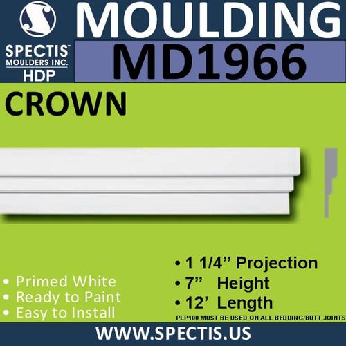 MD1966 Crown Molding Trim decorative spectis urethane