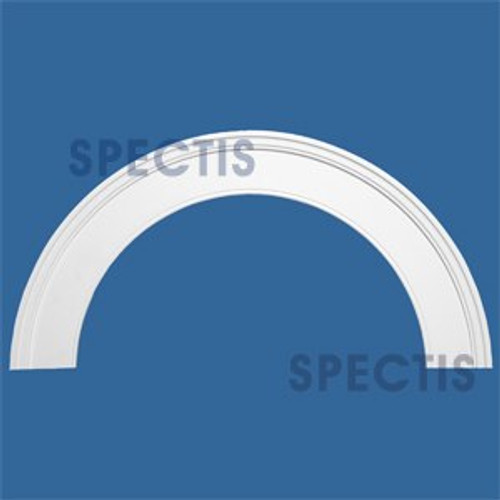 """AT1025-76 Arch Circle Top with 76"""" Opening"""