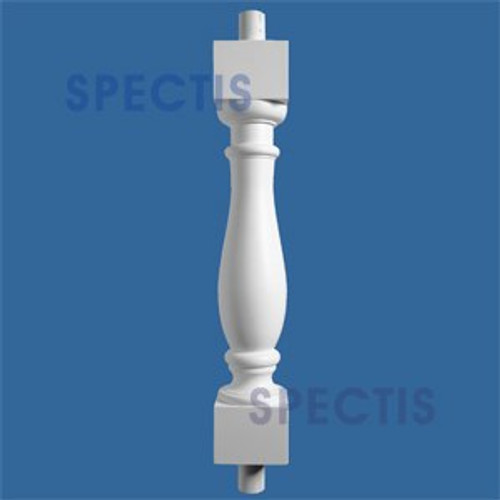 """BAL2000-25ext35 Urethane Baluster or Spindle 4 1/2""""W X 35""""H"""
