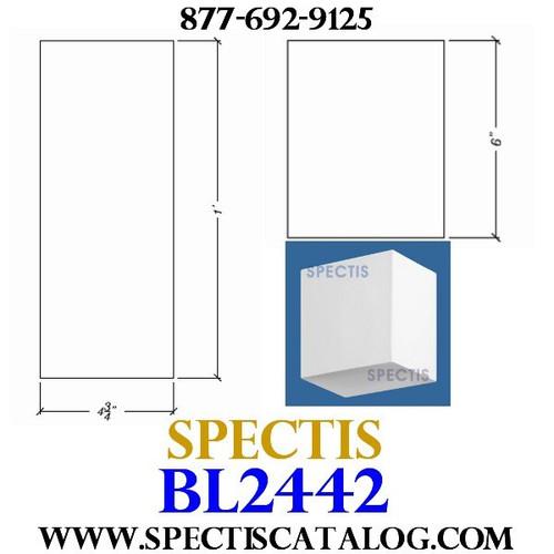 "BL2442 Corbel Block or Eave Bracket 12""W x 6""H x 4.75"" P"