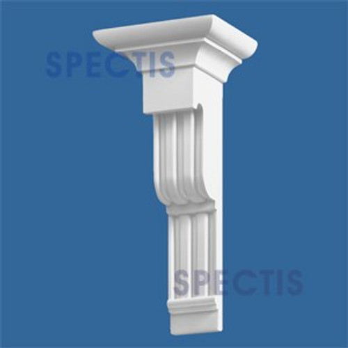 "BL2460 Corbel Block or Eave Bracket 7.75""W x 17""H x 6.75"" P"