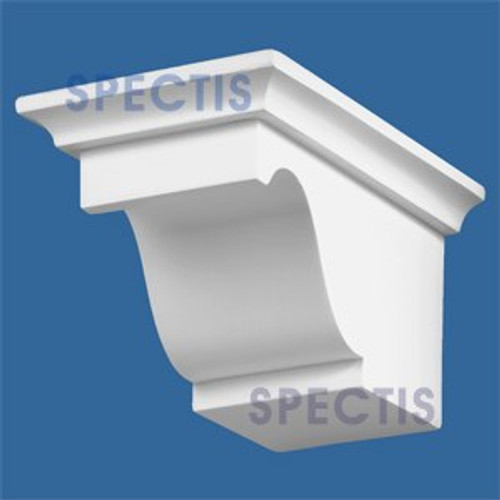 "BL2469L-12/12 Pitch Corbel or Eave Bracket 4""W x 4""H x 8"" P"