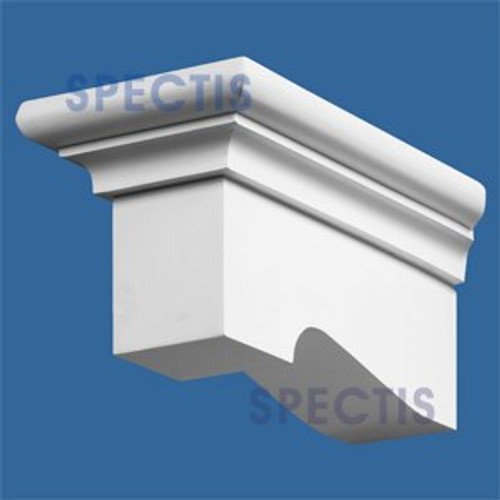 "BL2498L-6/12 Pitch Corbel Block or Eave Bracket 5""W x 5""H x 11"" P"