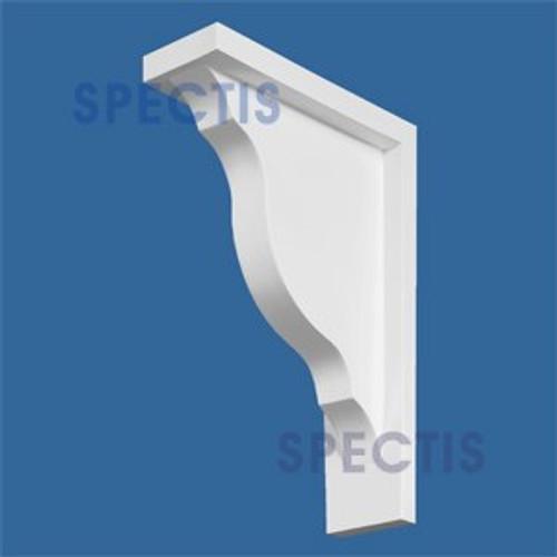 "BL2507 Corbel Block or Eave Bracket 3.5""W x 15""H x 11"" P"