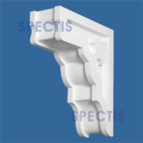 "BL2510A Corbel Block or Eave Bracket 3.5""W x 10.75""H x 10"" P"