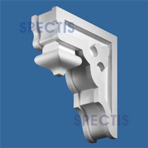 "BL2511B Corbel Block or Eave Bracket 4""W x 14""H x 12"" P"