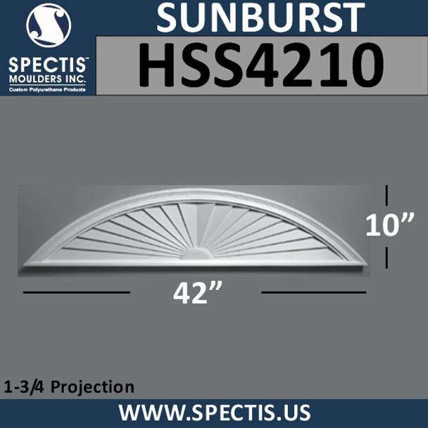 HSS4210 Urethane Sunburst 42 x 10