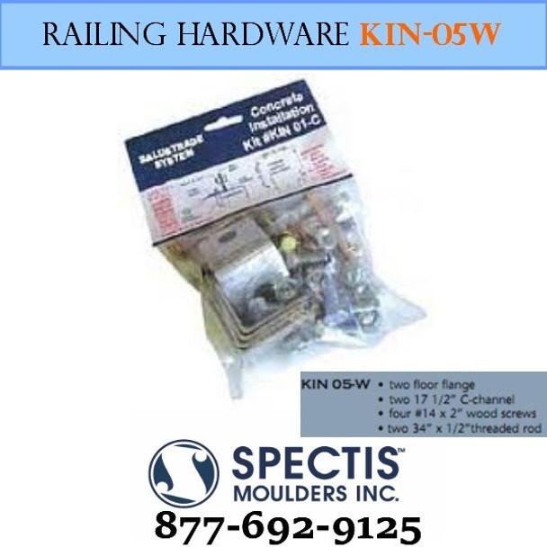 KIN 05-W Wood Anchor Hardware