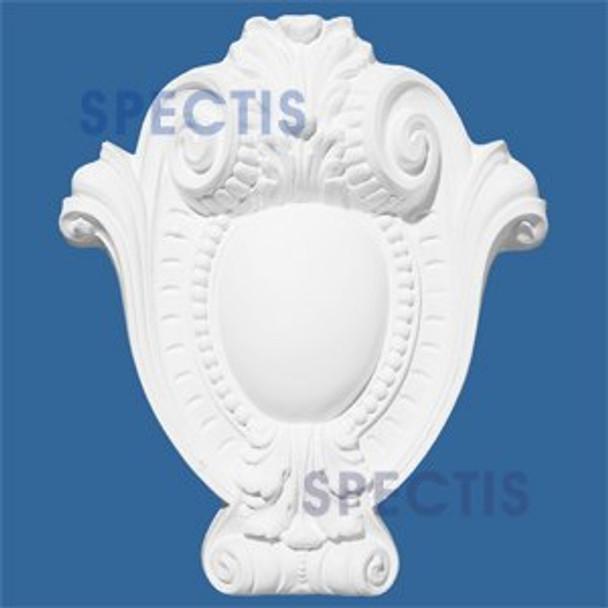 """PQ3500 Decorative Urethane Plaque - 2""""P X 14 1/2""""H X 12""""W"""