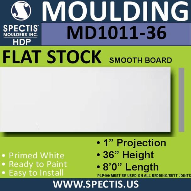 """MD1011-36 Spectis 1"""" Flat Trim 1""""P x 36""""H x96""""L"""