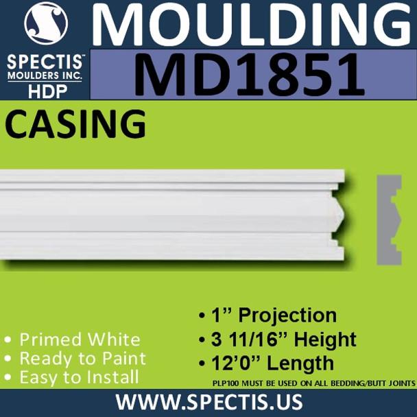 MD1851 Case Molding Trim decorative spectis urethane