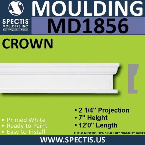 MD1856 Crown Molding Trim decorative spectis urethane