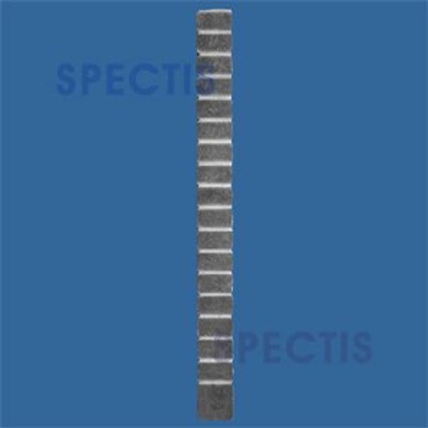 """BF200 Brick Replica Panel 1 1/4""""P X 44 3/4""""H X 4""""W"""