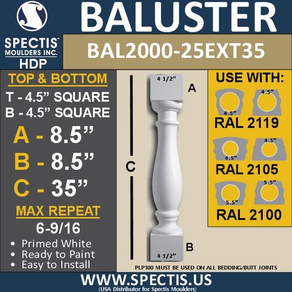 BAL 2000-25EXT35