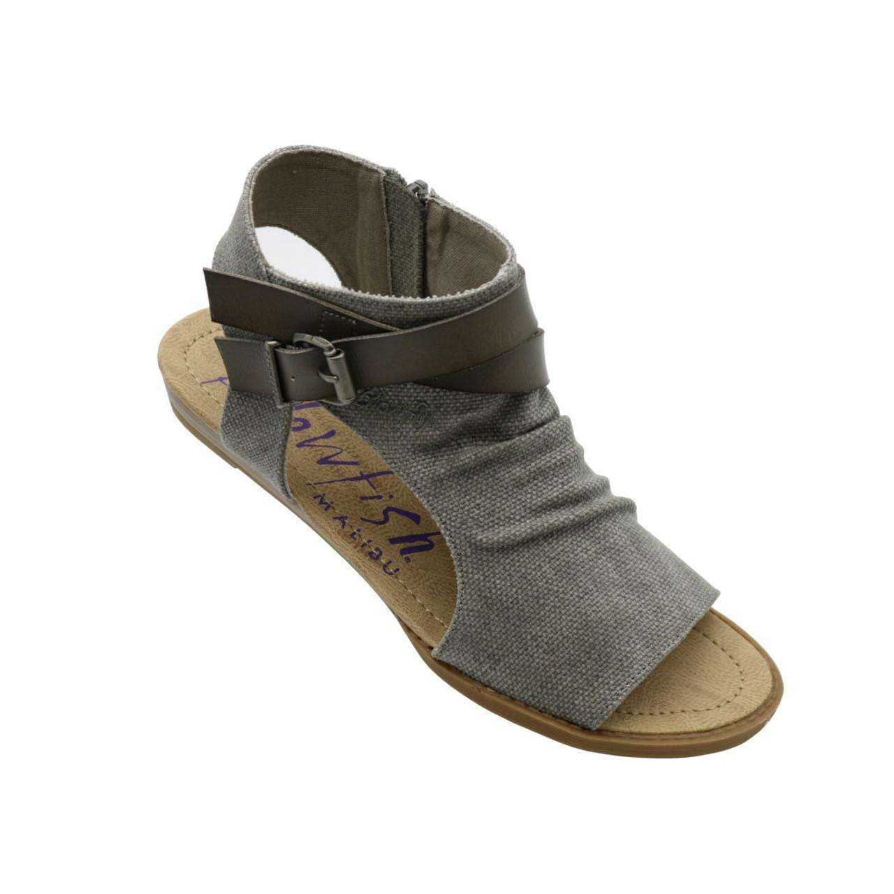 5a1ce472e71 Balla Sandal by Blowfish - Steel Grey - Trendy Threads Inc