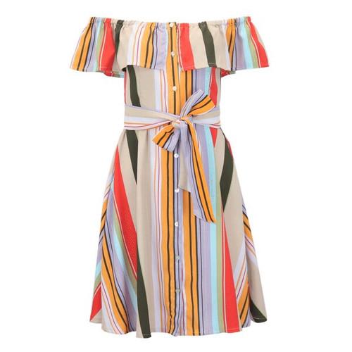 Tonight's The Night Striped Dress