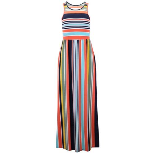 Go Bold Striped Maxi Dress